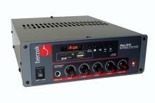 AMPLIFICADOR PARA MP3 PLAYER E MIXER para MICROFONE AP35 com CONTROLE REMOTO UHF [AP35 ]